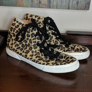 Airwalk Leopard High Top Sneakers